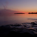 Sunset on the St-Lawrence River