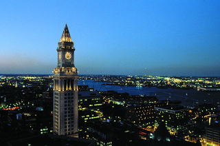 Customs House at Night | by Greater Boston Convention & Visitors Bureau