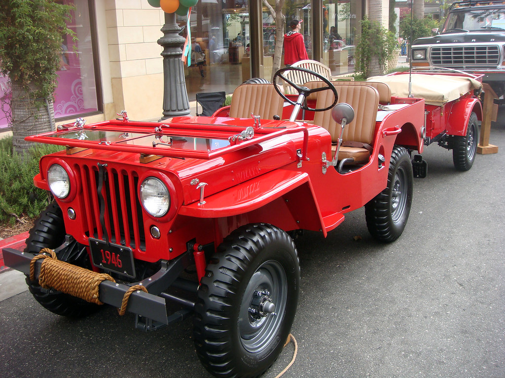 29a 1946 Willys Jeep Early Civilian Model E Kansas