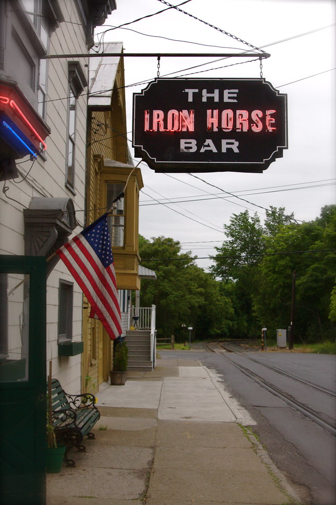The Iron Horse Bar - Hudson, NY | Location: N7th St ...