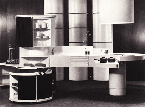 From 1601 decorating ideas for modern living 1973 flickr for 1980s furniture design