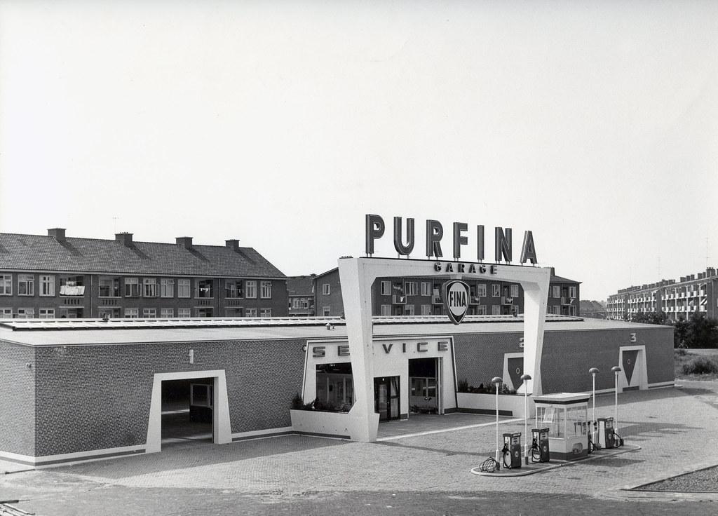 Purfina garage voorburg s van ravesteyn architect for Garage new s villejuif