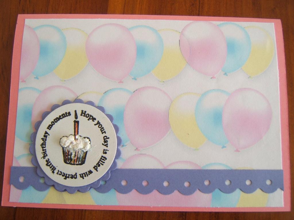 First birthday card for sydney a friends