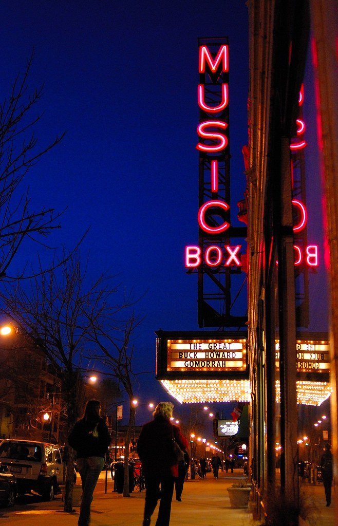 music box movie theater 1929 chicago 2009 copyright