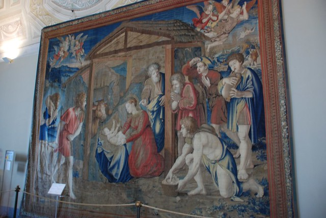 Gallery Of Tapestries Vatican Museum Vatican City Rome