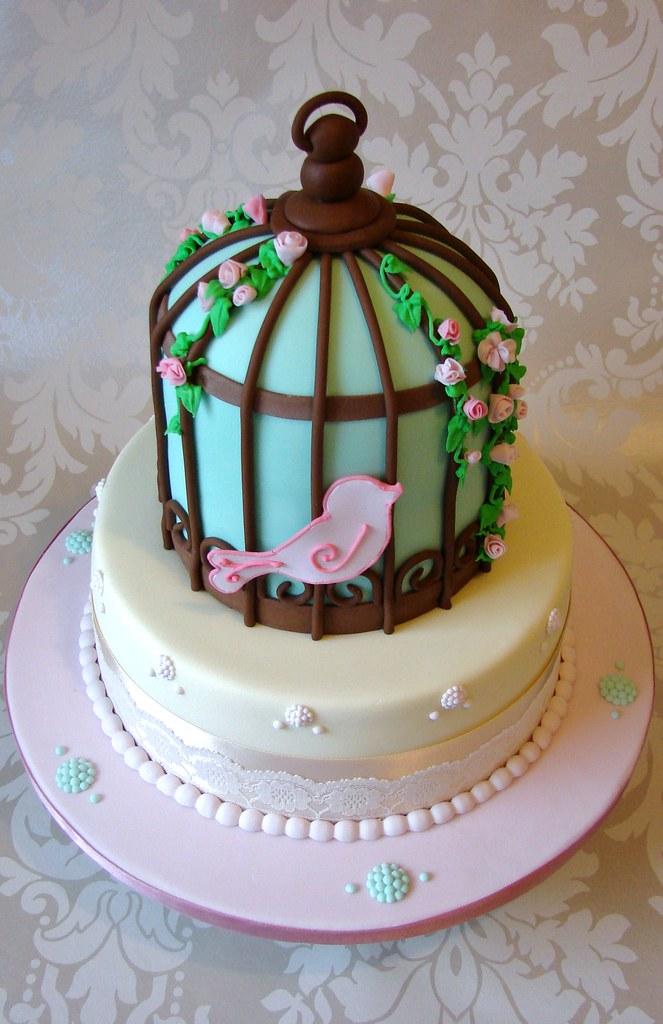 How To Make A Vintage Birdcage Cake