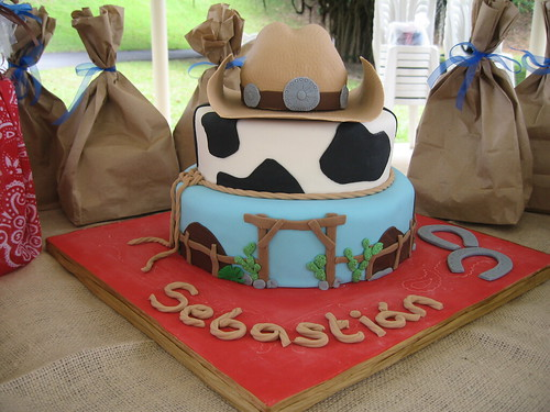 Cowboy Birthday Cake | by Sugar Diva