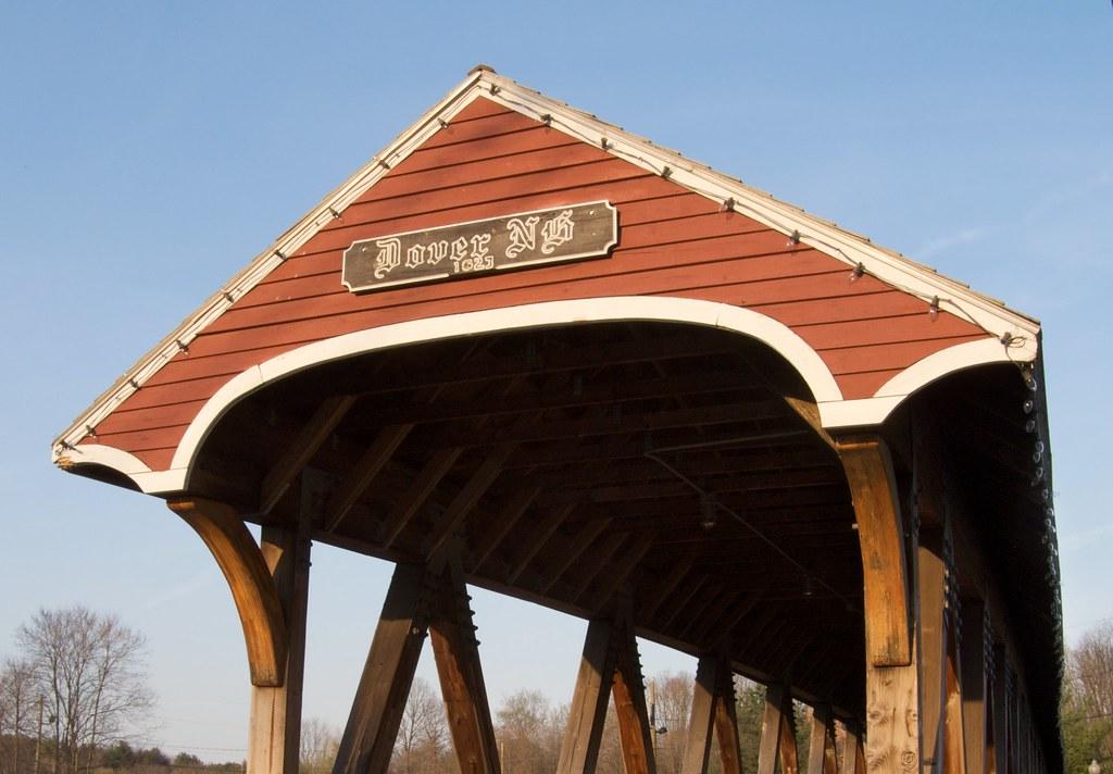 Cocheco Covered Bridge The Cocheco Covered Bridge In
