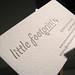 Little Footprint Photography Cards