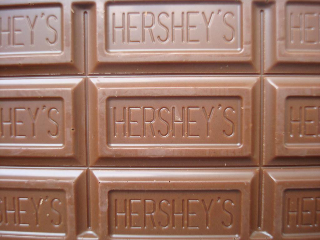 Sqaure Chocolate Bar Mold Hearts