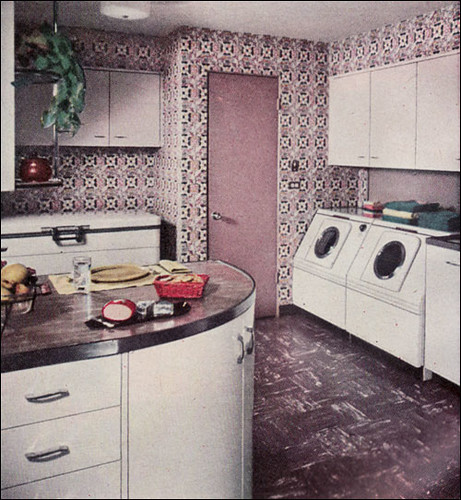 1954 Kitchen Laundry All This Lavender Isn T Going To