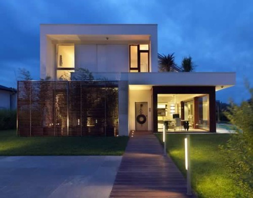 Modern tropical house modern tropical house concept with for Modern house concept