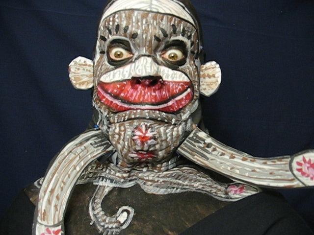 Face Paint Sock Monkey