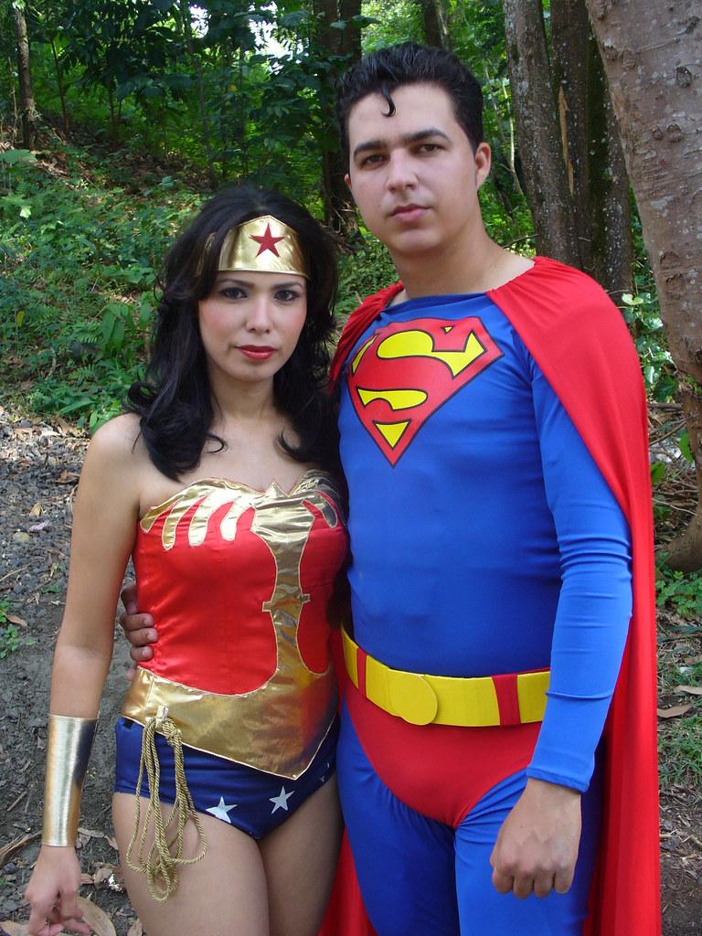 Disfraz Superman Mujer Superman y la Mujer