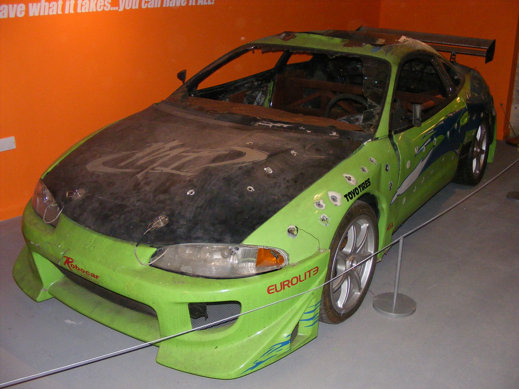 mitsubishi eclipse from the film 39 the fast and the furious flickr. Black Bedroom Furniture Sets. Home Design Ideas