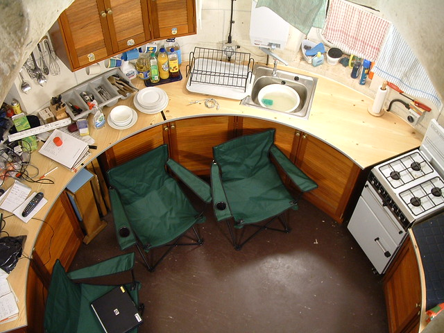 Bell rock lighthouse kitchen ever wondered what a round for Light house interior