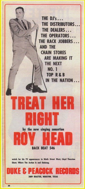 Image result for roy head treat her right