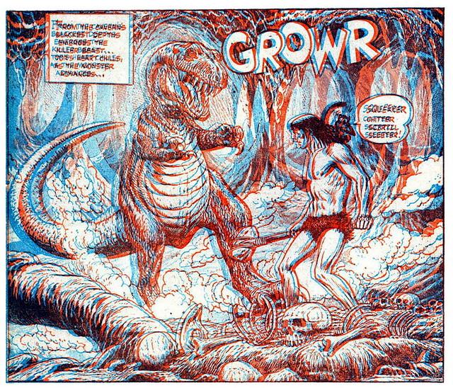 Комиксы 3 d