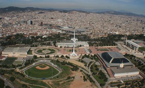 Inefc piscinas picornell torre de comunicaciones de tele for Piscinas sant jordi barcelona
