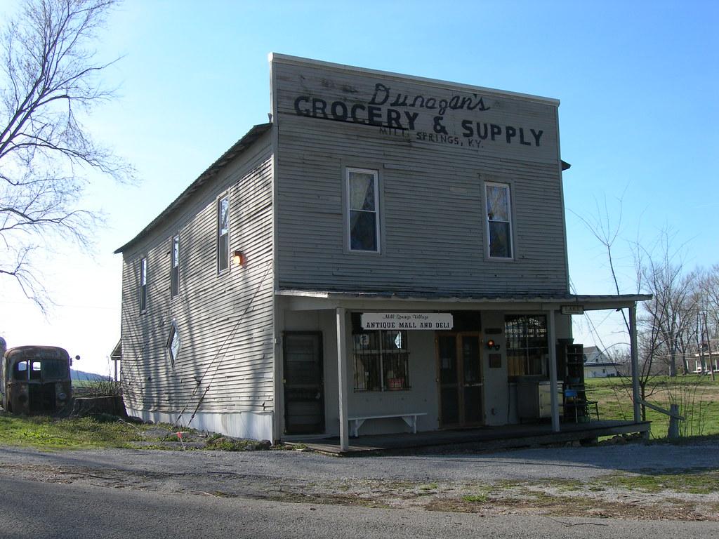 Dunagan S Grocery Amp Supply Store Mill Springs Kentucky