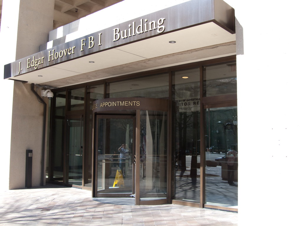 j edgar hoover fbi building entrance for those visiting t flickr. Black Bedroom Furniture Sets. Home Design Ideas