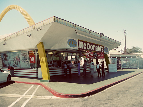 oldest operating McDonald's in Downey, CA | by singamelodie
