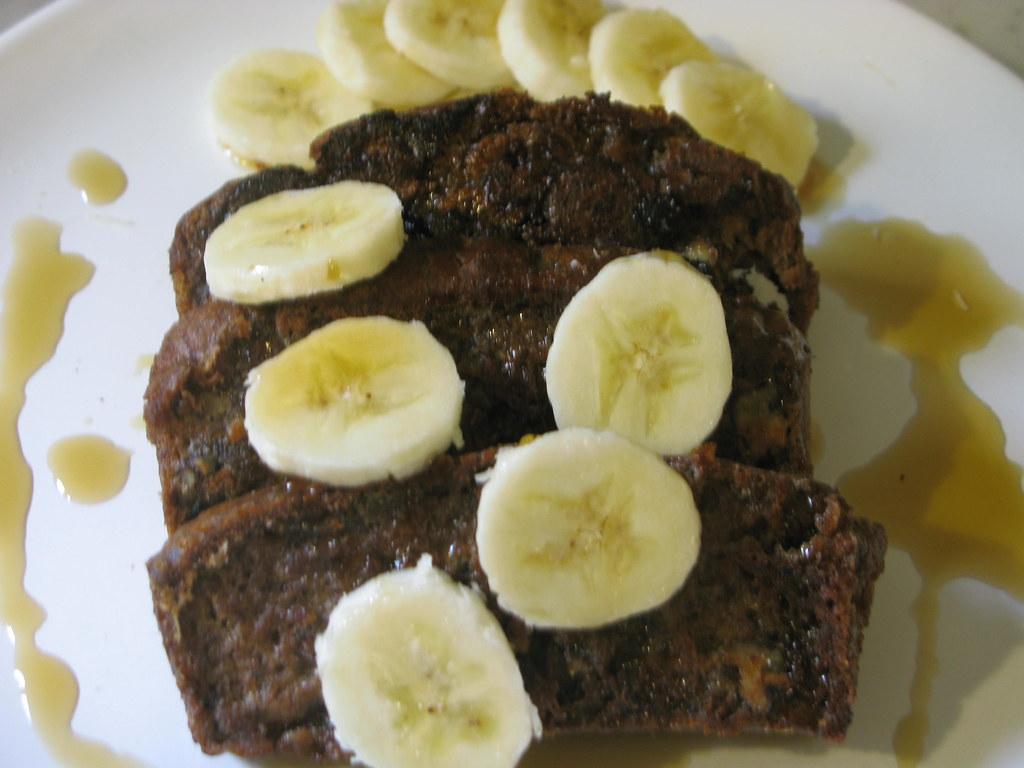 Vegan Banana And Chocolate Cake