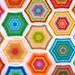 vertical hexagons