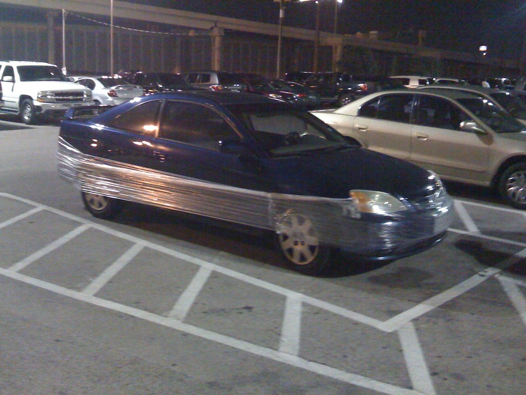 Saran Wrap Car: Saran Wrap Wrapped Car At Dave And