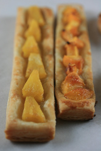 Food Librarian - Parisian Apple, Pineapple and Peach Tartlet | by Food Librarian