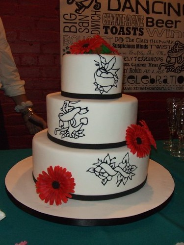 tattoo themed wedding cake wedding cake our vintage wedding cake with sugar 20763