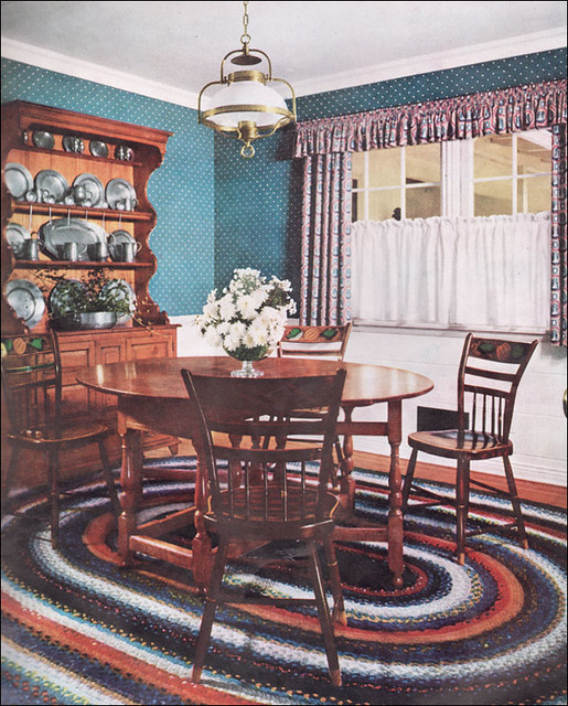 1951 classic colonial it comes as some surprise when for Classic american home decor