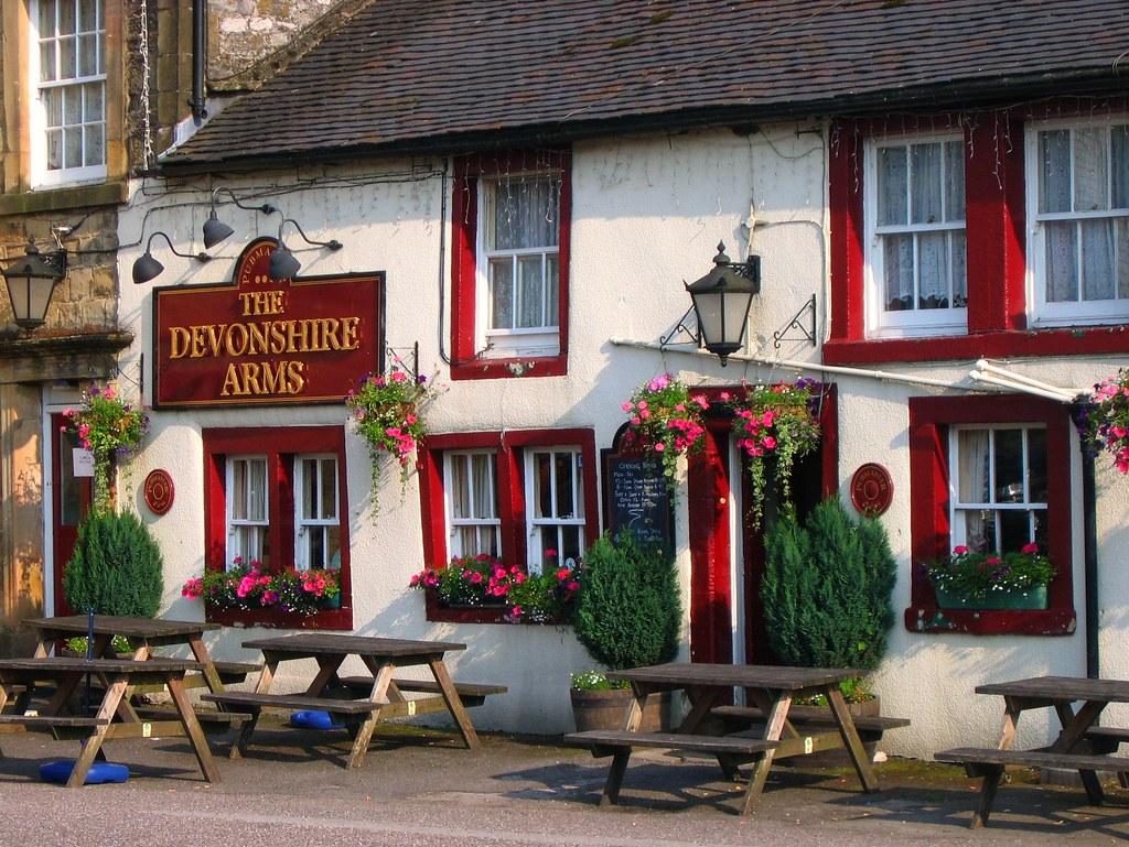 The Devonshire Arms In Hartington  Derbyshire