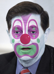 Tom DeLay (Drunken Lobbyist R-DC):: Obstructionist Republican Clown