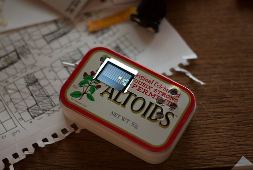 Tetris in an altoids tin flickr photo sharing for Tin projects
