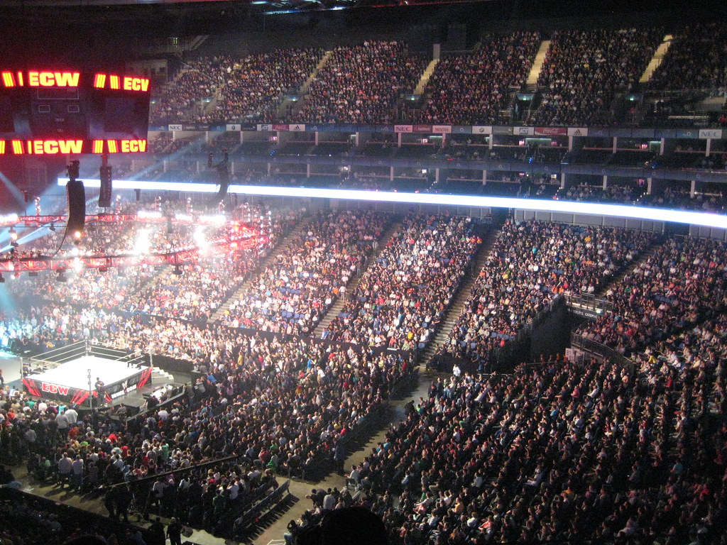 wwe smackdown at the o2 arena will parkhouse flickr. Black Bedroom Furniture Sets. Home Design Ideas