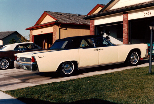 1962 Lincoln Continental Convertible | by coconv