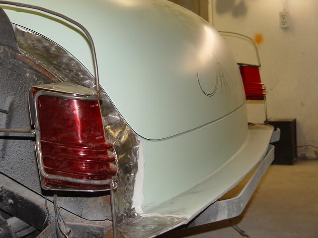 Custom 1953 Buick 1954 Merc Tail Lights 4 Custom 1953