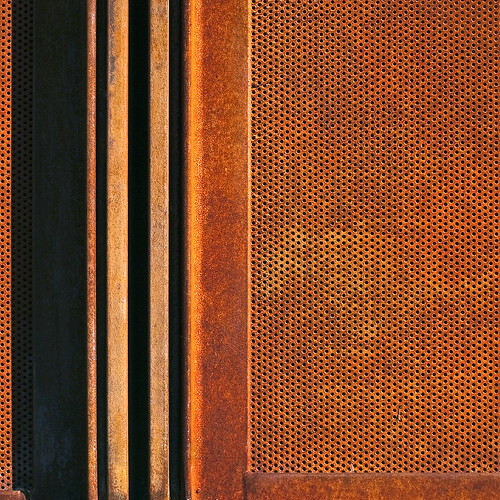 Springs Preserve Detail Corten Frame and Panel | by ken mccown