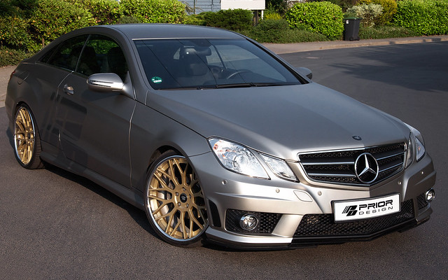 Prior design mercedes benz e class coupe w207 amg flickr for Mercedes benz w207