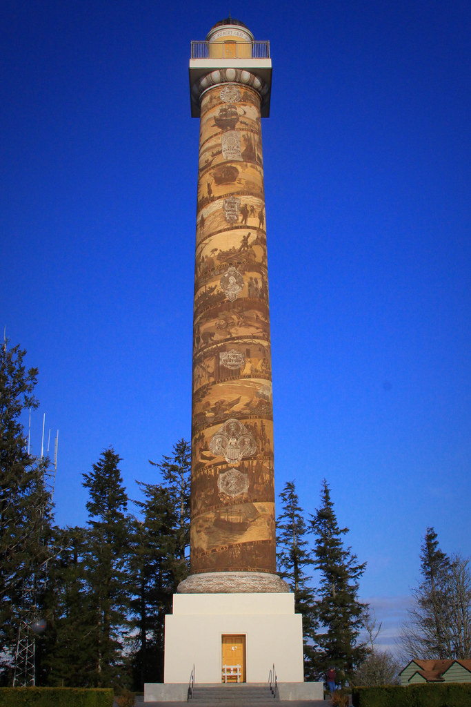 Astoria Column | Cool piece of architecture and history in ...