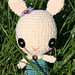 Amigurumi Button eyed Easter Bunny