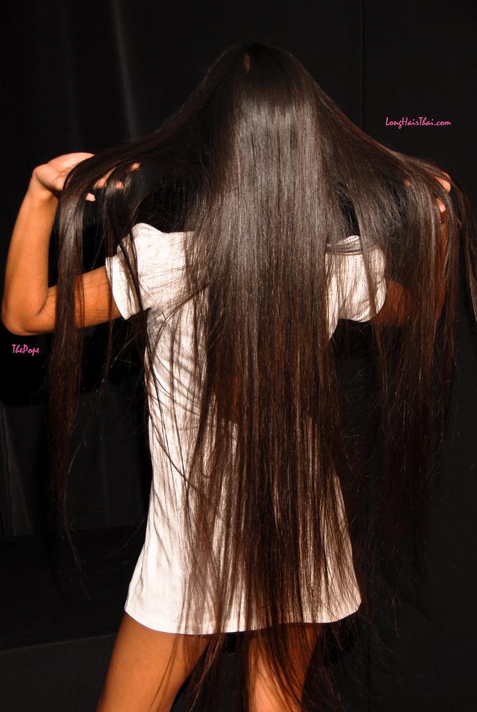 Nat's Long Thai Hair   The Pope   Flickr