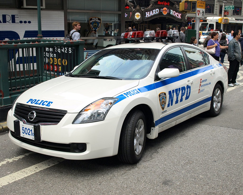 Pmsc Nypd Nissan Altima Hybrid Police Car Times Square N