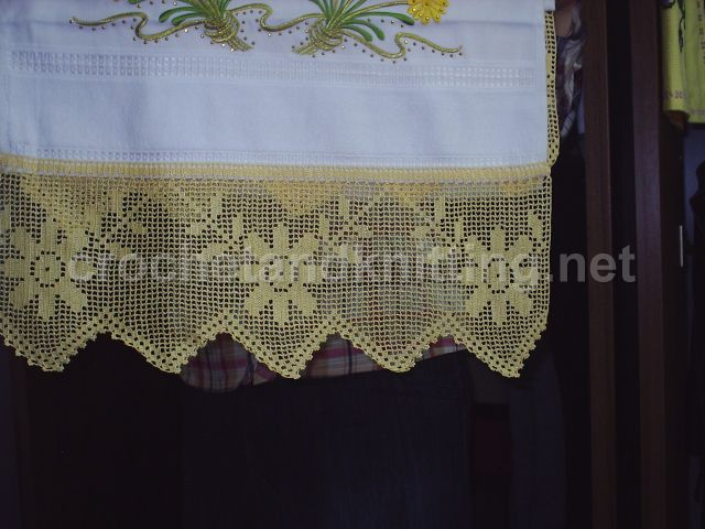 Crocheted Towel Edge Patterns Crocheted Towel Edge Pattern Flickr