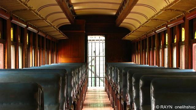 Interior vagon de tren antiguo rayn flickr