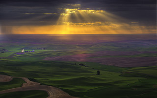 Burst Of Light In The Palouse | by kevin mcneal