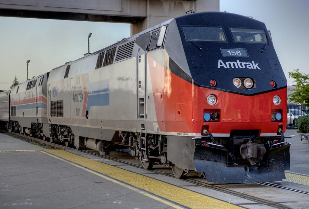 Amtrak 156 P42 Heritage Unit Amtrak 156 P42 Heritage