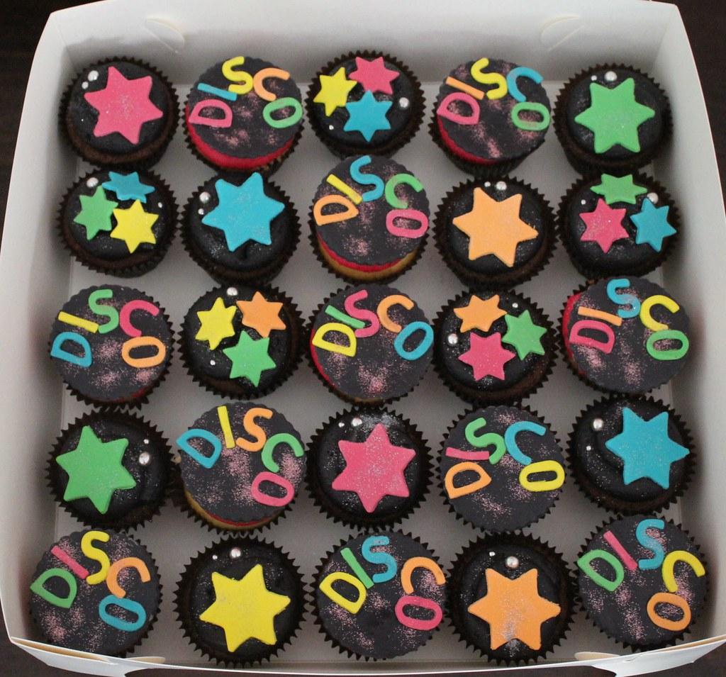 Disco Cupcakes Marina Carter Flickr