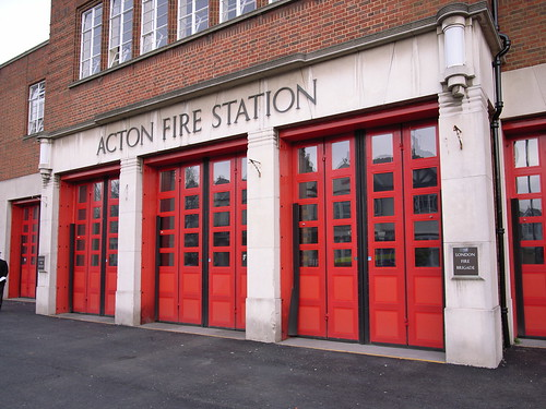Acton Fire Station | by stevecadman